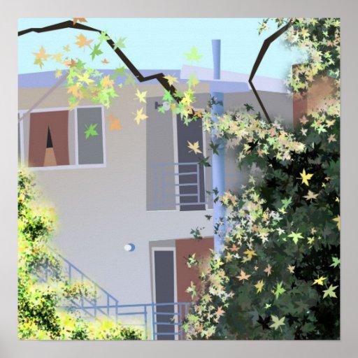Hayward Apartment Poster