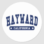 Hayward California College Style tee shirts Sticker