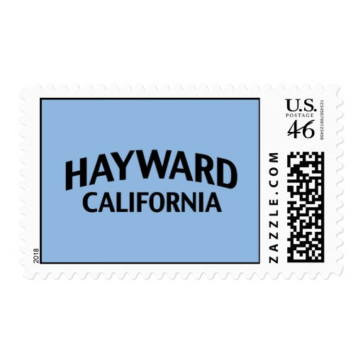Hayward California Postage Stamps