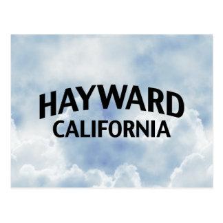 Hayward California Postcard