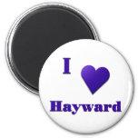 Hayward -- Midnight Blue 2 Inch Round Magnet