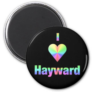 Hayward -- Pastels Fridge Magnets