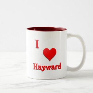 Hayward -- Red Two-Tone Coffee Mug
