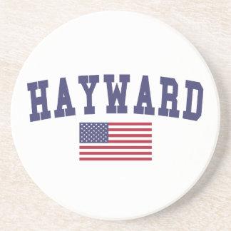 Hayward US Flag Coaster