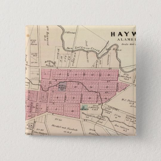 Haywards, Crist tannery Pinback Button