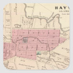 Haywards, Crist tannery Square Sticker