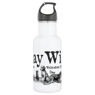 HayWire Logo Stainless Steel Water Bottle