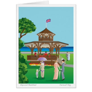 Haywood Bandstand Greeting Card