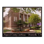 Haywood County Courthouse - Brownsville, TN Postcards
