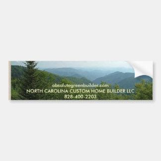 Haywood-Montaña-Pase por alto, absolutegreenbuilde Pegatina De Parachoque