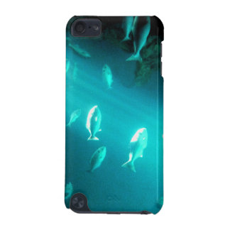 Haz de natación subacuática de los pescados de la  funda para iPod touch 5G