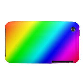 Haz del arco iris iPhone 3 funda