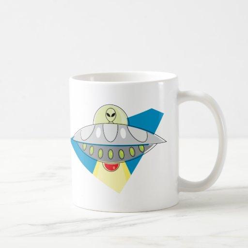 Haz del UFO para arriba Taza De Café