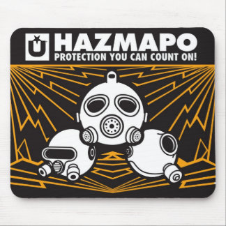 Haz Mousepad - Orange