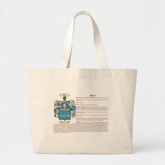 Haz (significado) bolsa tela grande