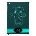 Hazaña de la mano de Hamsa: Corazón (trullo) (mono iPad Mini Protectores