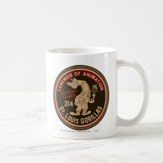 Hazaña del logotipo de los gorilas de Gashouse. Ja Taza De Café