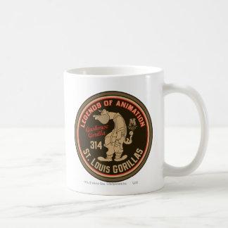 Hazaña del logotipo de los gorilas de Gashouse. Taza Clásica