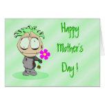 Hazaña feliz Lil Ralphie del día de madre Felicitaciones