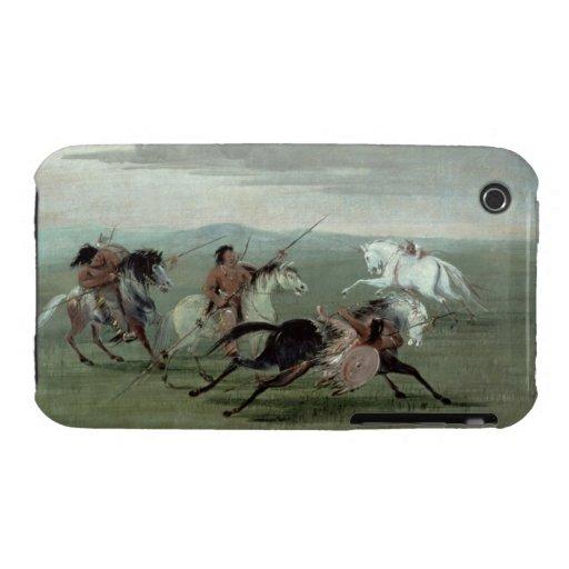 Hazañas del Comanche de la equitación marcial, 183 Case-Mate iPhone 3 Cobertura