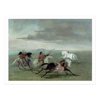Hazañas del Comanche de la equitación marcial, 183 Postales