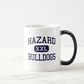Hazard - Bulldogs - High School - Hazard Kentucky 11 Oz Magic Heat Color-Changing Coffee Mug