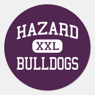 Hazard - Bulldogs - High School - Hazard Kentucky Classic Round Sticker