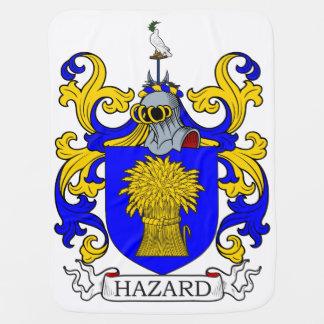 Hazard Coat of Arms II Baby Blanket