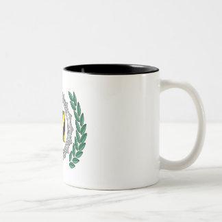 Hazard Laboratories University of Cryptozoology Two-Tone Coffee Mug