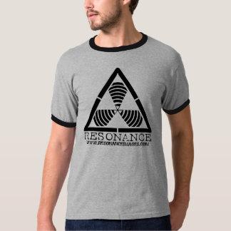 Hazard Logo Black Resonance Images Ringer Shirt