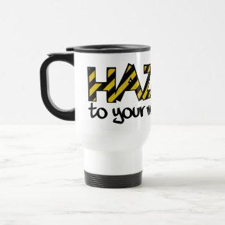 HAZARD mug - choose style & color