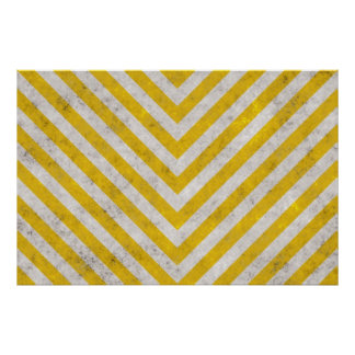 Hazard Striped Print