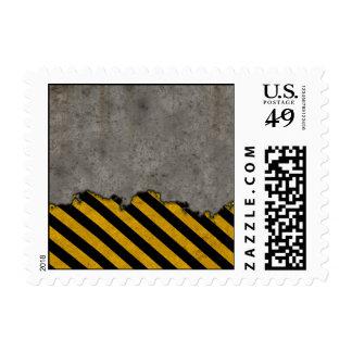 Hazard Striped Stone Texture Stamps