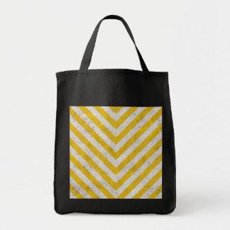 Hazard Striped Tote Bag