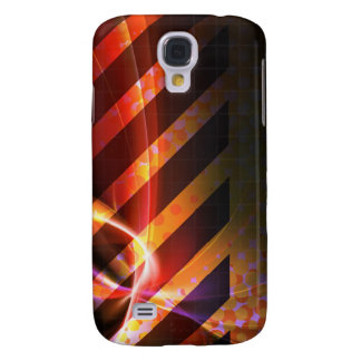 Hazard Stripes Abstract Layout Samsung Galaxy S4 Cover