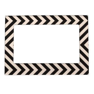 Hazard Stripes Magnetic Frame