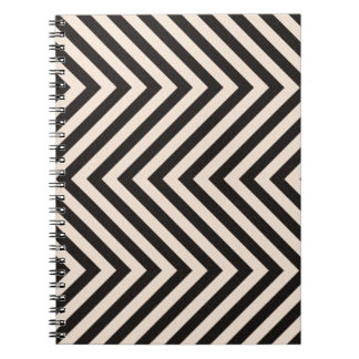 Hazard Stripes Notebook