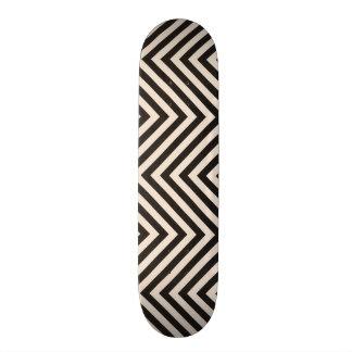 Hazard Stripes Skateboard Deck