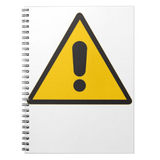 Hazard Symbol - General Danger.png Notebook