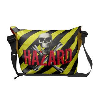 Hazard Warning Messenger Bag