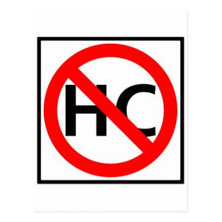 Hazardous Cargo Prohibited Highway Sign Postcard