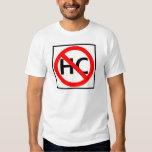 Hazardous Cargo Prohibited Highway Sign T-shirts