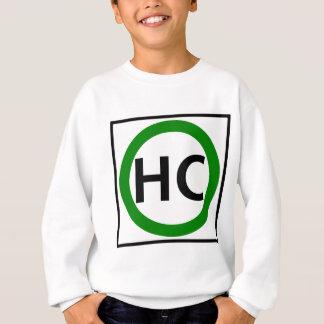 Hazardous Cargo Route Highway Sign Sweatshirt