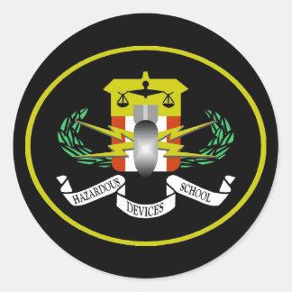 Hazardous Devices Logo Stickers
