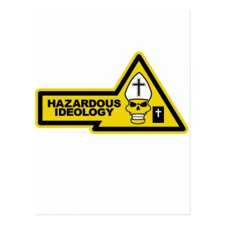 Hazardous Ideology Postcard