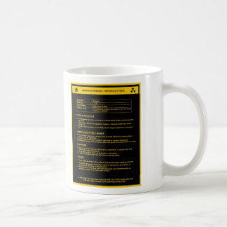 Hazardous Material Sign - Women Coffee Mug