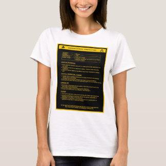 Hazardous Material Sign - Women T-Shirt