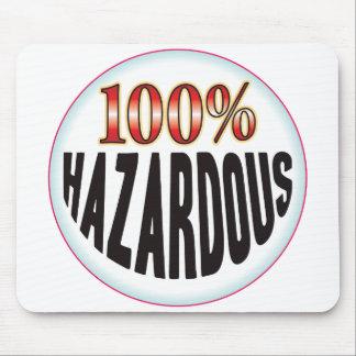 Hazardous Tag Mouse Pad
