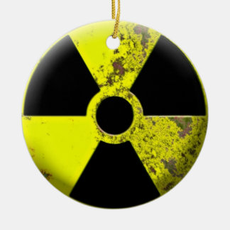 Hazardous Waste Christmas Tree Ornament