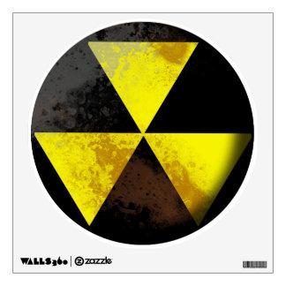 Hazardous waste Wall Decal